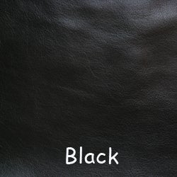 """Image of Black Leather Strap for Louis Vuitton (LV), Coach & More - .5"""" Wide - Fixed or Adjustable Lengths"""