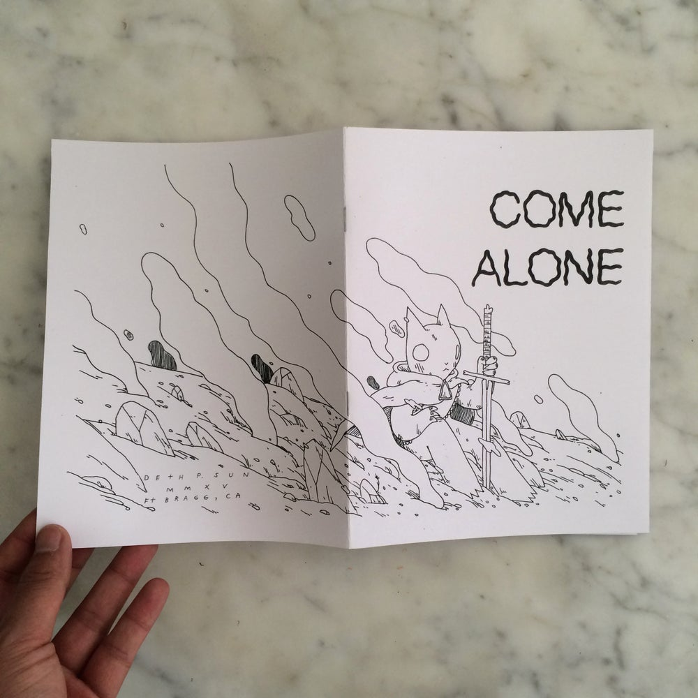 Image of Come Alone Zine
