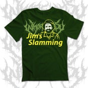 Image of Whoretopsy Jims Slamming T-shirt