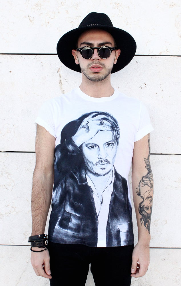 Image of Johnny Depp Shirt