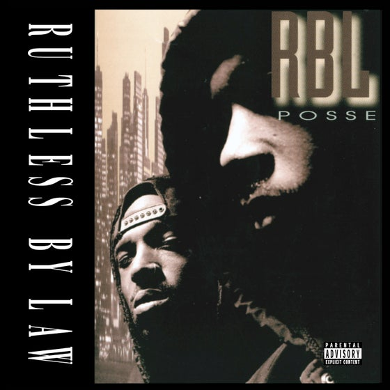Image of RBL POSSE - Ruthless By Law (CD)