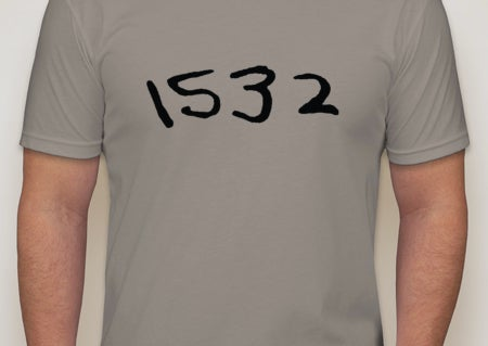 Image of 1532 t-shirt