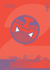 Image of 'DR Vampireman™' A3 Litho Print
