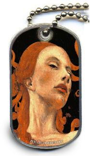 Image of Dog Tag Necklace- A Twist of Fate