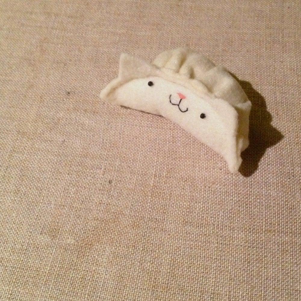 Image of cat dumplings