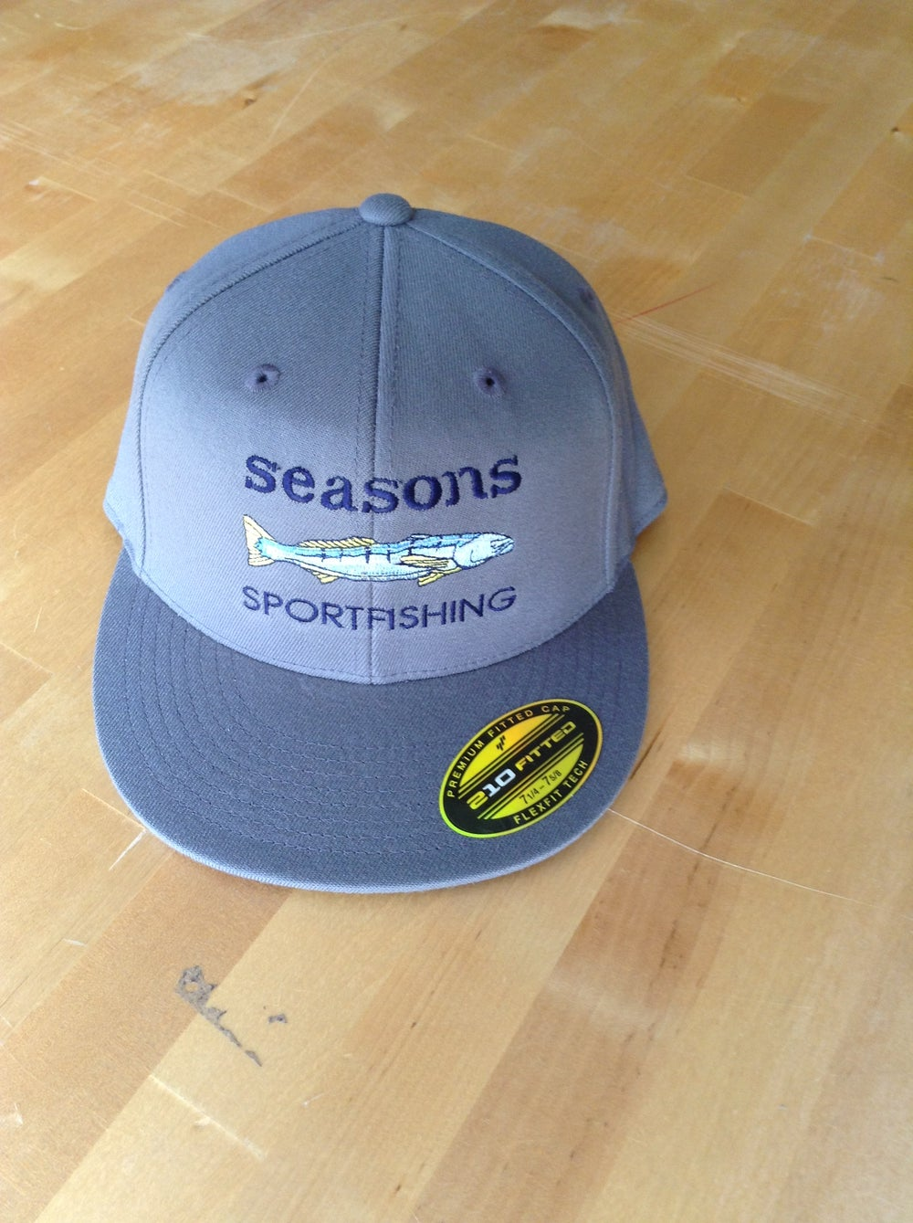 Image of SEASONS - SEABASS - GREY - FLATBILL