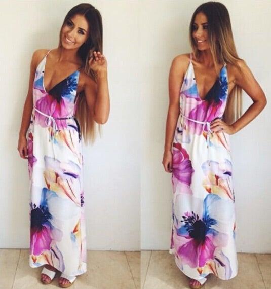 Image of SIMONE MAXI DRESS