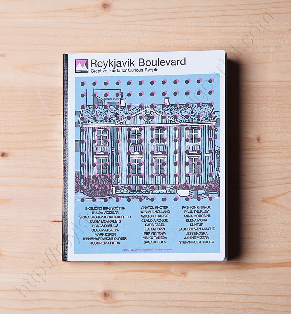 "Image of Reykjavik Boulevard ""Creative Guide for Curious People"" - 162 pages"