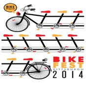 Image of BikePGH Bike Fest 2014 Silkscreen Poster - NEW!