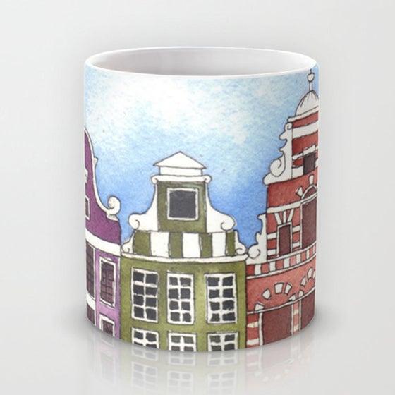 "Image of Taza ilustrada ""Amsterdam"""