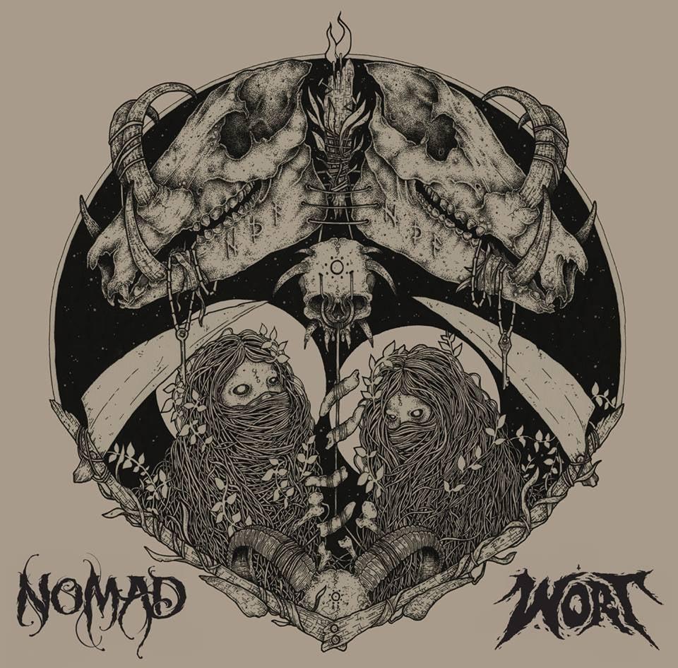 Image of Nomad - Wort : Split CD