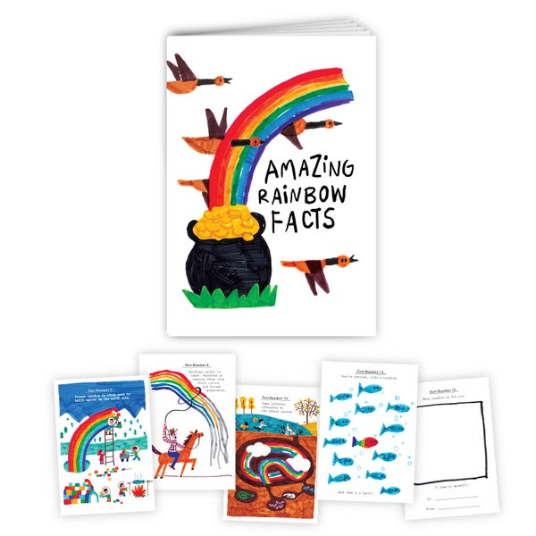 Image of Amazing Rainbow Facts Storybook
