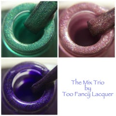 The Mix Trio (12ml x 3) - Too Fancy Lacquer