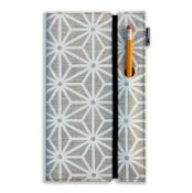 Image of Large Linen Notebook with Piano Nobile Print
