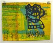 "Image of MJL ""Gibberish Moving Side Face"" Art Print"