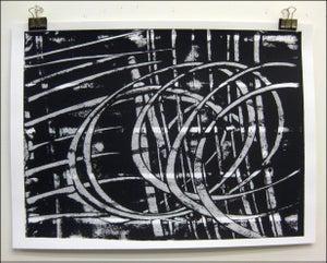 """Image of MJL """"Halftone Swirls"""" Art Print"""