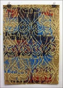 """Image of MJL """"Scribbels Mash up Owl"""" Art Print"""