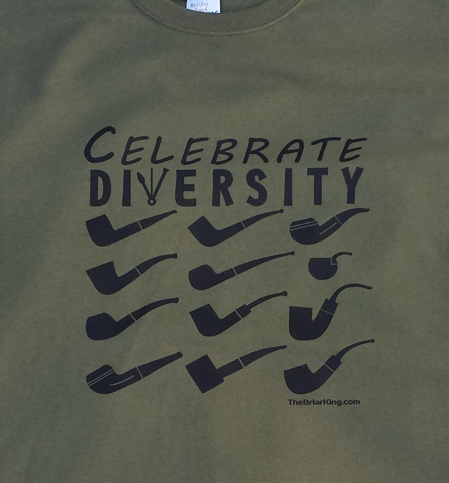 Image of Pipe T Shirt - Celebrate Diversity