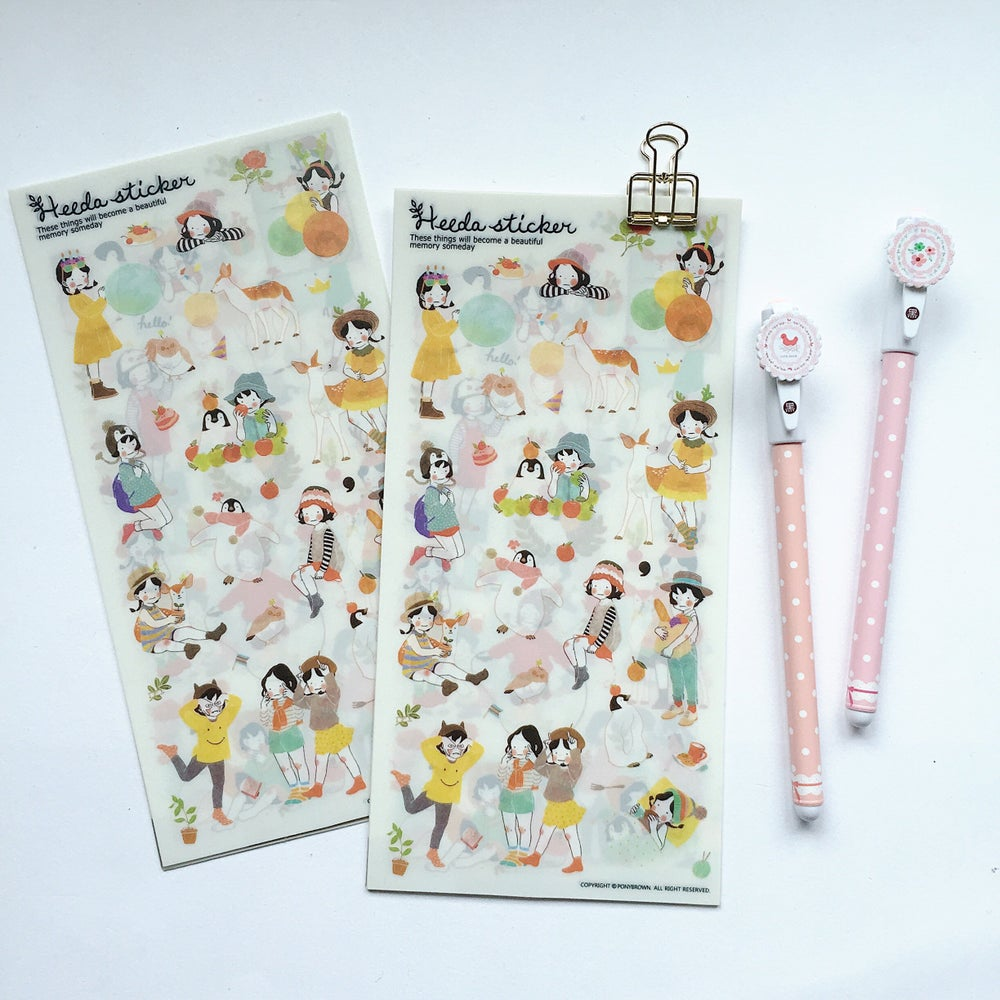 Image of Heeda Diary Stickers