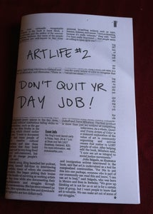 Image of ArtLife: Don't Quit Yr Day Job zine
