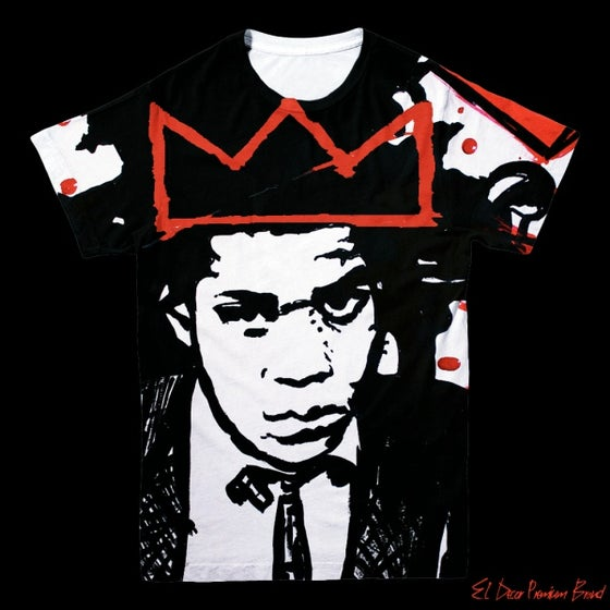 Image of Basquiat Still King T-Shirt