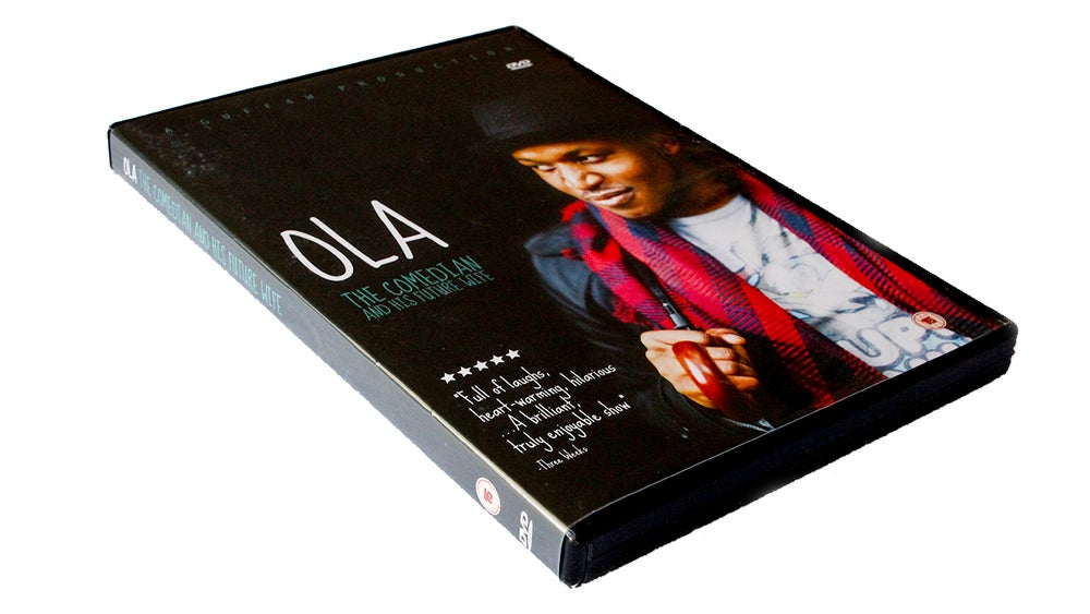Image of DVD - Ola - The Comedian and His Future Wife + DVD Extras