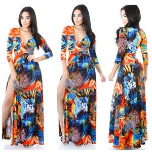 "Image of ""Jazz in the Garden""Dress"