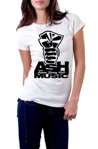 Image of White- women's bella Shirt