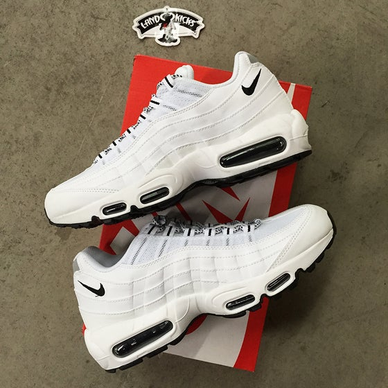 Image of Nike Air Max 95 'White Mesh'