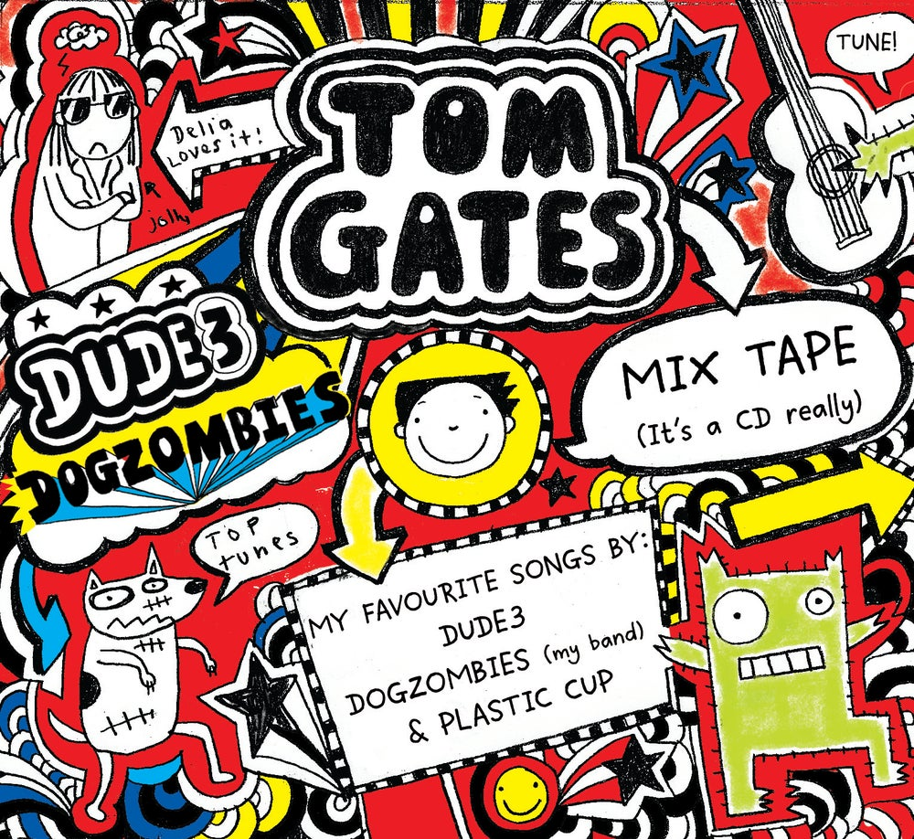 Image of Tom Gates Mix Tape (It's a CD  really)