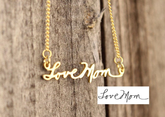 Image of LoveNote Necklace 18kGP