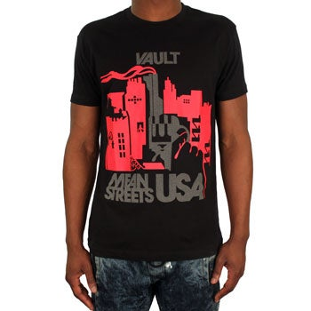 Image of Mean Streets Tee (Black/3M)