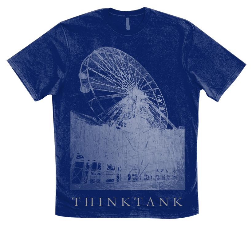Image of Ferris Wheel Tee - Blue