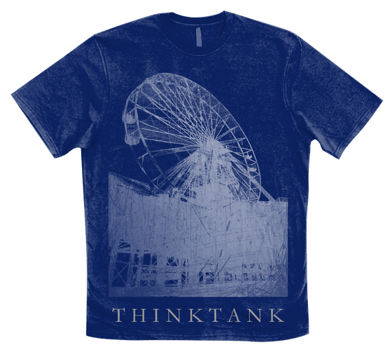 Image of Ferris Wheel Tee - Blue