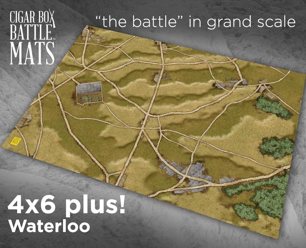 Image of Waterloo -- 4'x6' plus -- #180