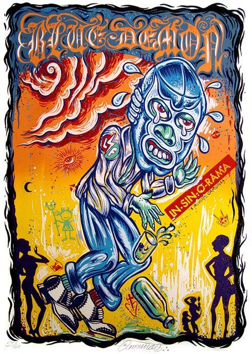 Image of Blue demon