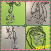 Image of Initial Pendant Necklaces