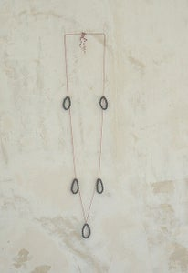 Image of blackberries necklace