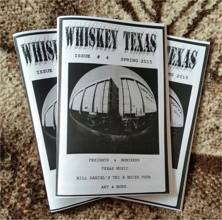 Image of Whiskey Texas <BR> 'zine # 4