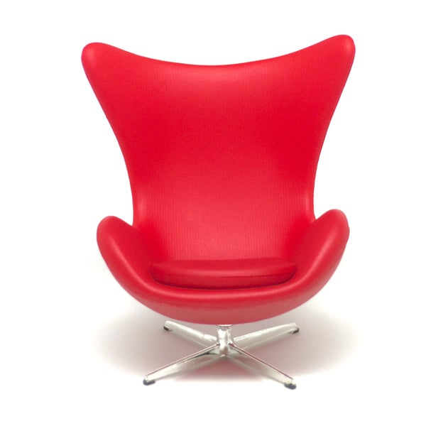 Image of Designer Chairs Miniature – EGG Chair by Arne Jacobsen