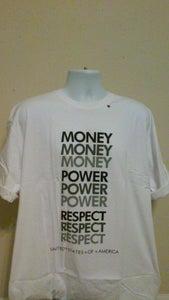 Image of Money Power Respect tee (Men)