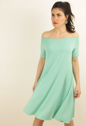 Image of TURQUOISE DRESS