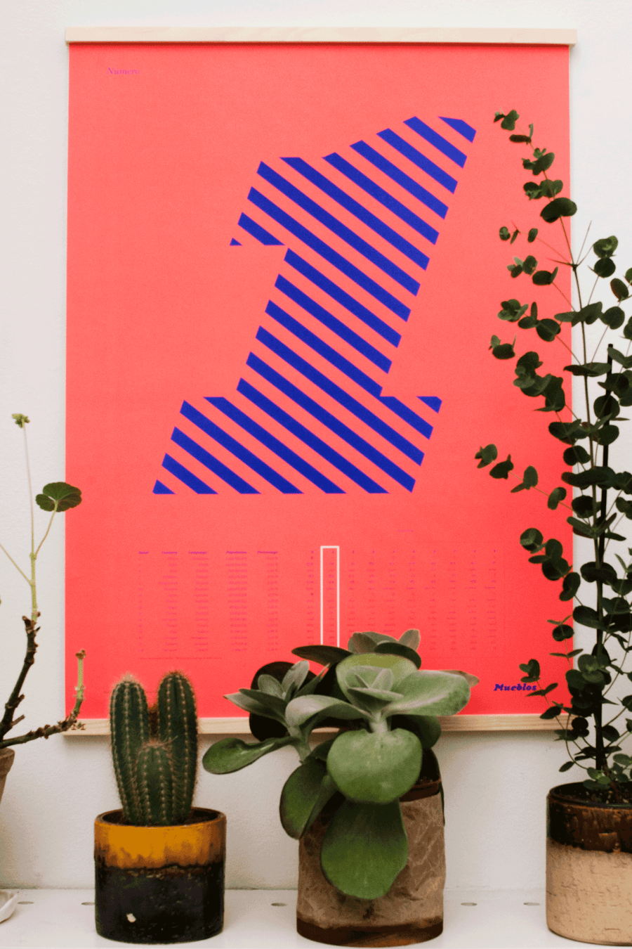 Image of Número Uno · 50×70cm