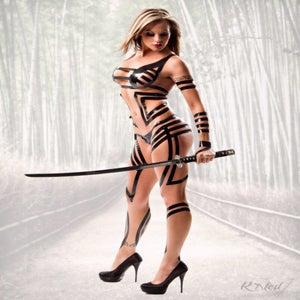 """Image of Velvet Sky """"Warrior"""" signed 8x10 photo"""