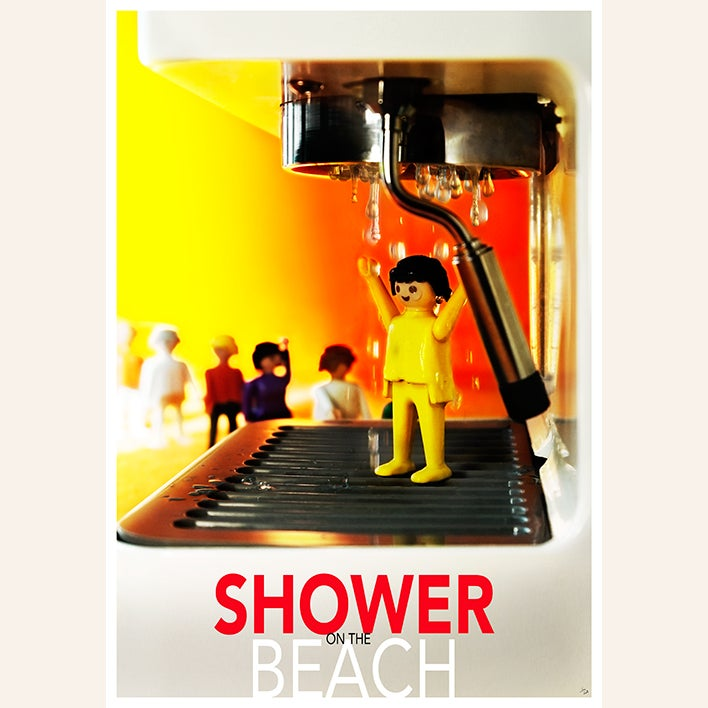 Image of Shower on the beach