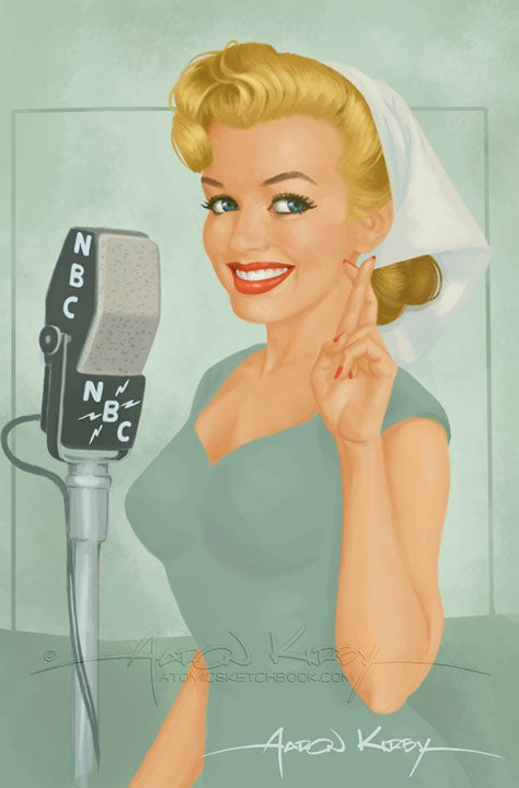 Image of Norma Jeane print