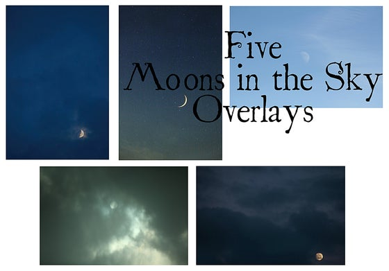 Image of Moons in the Sky Overlays