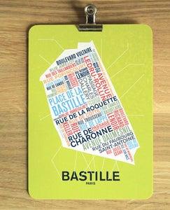 Image of CARTE POSTALE BASTILLE