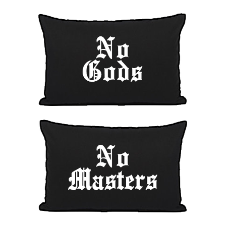 Image of No Gods No Masters - Pillowcases