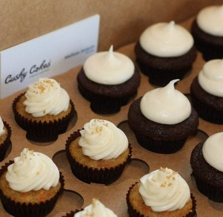Image of  24 Mini Organic Cushy Cupcakes